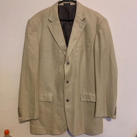 3/$20🔥John Ashford 100% silk coat
